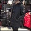 阿迪冬款中长款户外运动防风运动棉衣