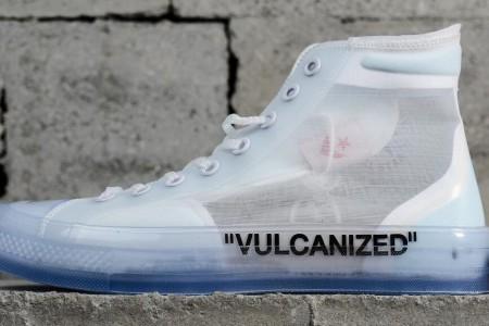 匡威鞋OFF-WHITE x Converse联名款出货