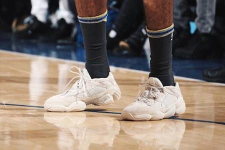 Yeezy500也能上场篮球实战?NBA神人比赛上脚