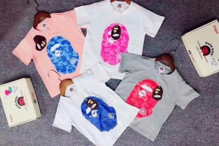 AAPE儿童短袖T恤