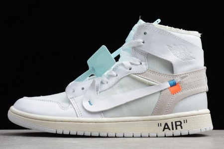 OFF-WHITE x Air Jordan 1 AQ0818-100