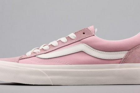 粉色系VANS板鞋