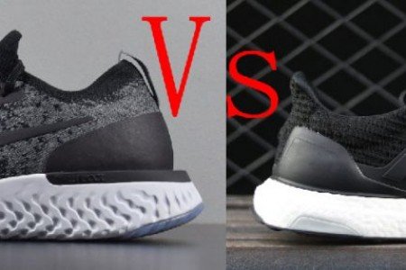 Nike Epic React VS Adidas Ultra Boost对比