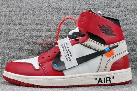 莆田顶级版本OFF-WHITE x Air Jordan 1 AA3834-101细节展示