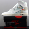 OG版本OFF-WHITE x Air Jordan 1AQ0818-100鉴赏及真伪对比