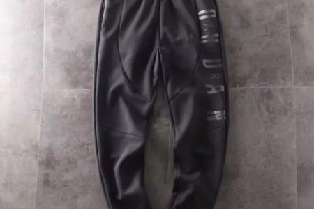 AJ飞人秋季高端双面复合布立体裁剪卫裤