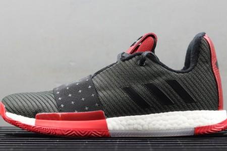 真爆版哈登3代实战篮球鞋展示