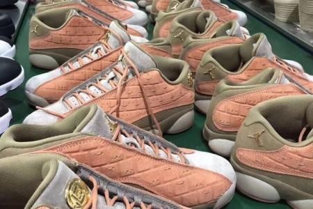 """冠希哥又一力作CLOT X Air Jordan 13""""兵马俑"""""""