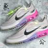 纯原版本OW x Air Max 97联名款彩虹鞋AJ4585-600开发日记