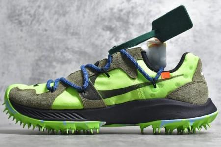 纯原版 OFF-WHITE x Nike 联名款跑鞋CD8179细节展示