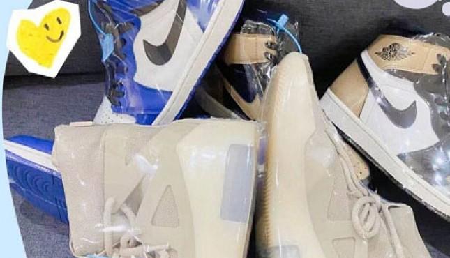 球鞋养护之水晶底氧化