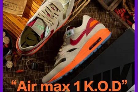 冠希哥CLOT x NIKE 中国风球鞋再度来袭