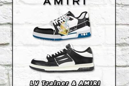复古球鞋LV trainer和Amiri鉴定要点分享
